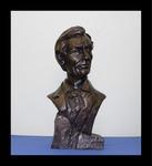 Beardless Abraham Lincoln Bust