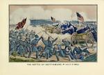 The Battle Of Gettysburg, Pennsylvania July 3rd 1863.