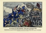 The Battle of Chattanooga, Tennessee November 24th and 25th 1863.