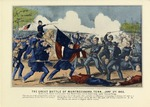 The Great Battle Of Murfreesboro, Tennessee January 2nd 1863.