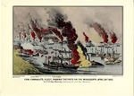 Commodore Farragut's Fleet, Passing The Forts Of The Mississippi April 24th 1862.