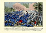 The Battle Of Fair Oaks, Virginia, VA May 31st 1862.