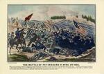 The Battle Of Petersburg, Virginia April 2nd 1865