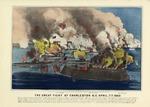 The Great Fight At Charleston, South Carolina April 7th 1863