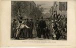 Abraham Lincoln Entering Richmond, April 3rd 1865