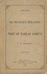 Remarks on Mr. Binney's treatise on the writ of habeas corpus