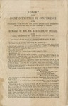 Report of the joint committee of conference on the disagreeing votes between the Senate and House of Representatives upon the bill for the admission of Kansas.: Also remarks of Hon. Wm. H. English, of Indiana, on the bill reported by the joint committee. : Delivered in the House of Representatives, April 23, 1858.
