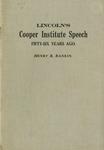 Lincoln's Cooper Institute speech