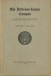 The Jefferson-Lemen compact: the relations of Thomas Jefferson and James Lemen in the exclusion of slavery from Illinois and the Northwest Territory, with related documents, 1781-1818