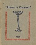 Address by Abraham Lincoln of Illinois in Cincinnati, Ohio, September 17, 1859.