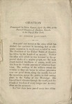 Oration Pronounced in Union Square, April 25, 1865: at the Funeral Obsequies of Abraham Lincoln in the City of New York
