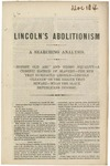 Lincoln's Abolitionism.: A Searching Analysis.