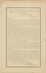 Special Order Regulating the Transportation of the Remains of the Late President, Abraham Lincoln, from Washington City, to Springfield, Illinois.: War Department, Washington City, April 18, 1865.