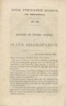 Letter of Peter Cooper on Slave Emancipation