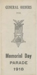 General Orders for Memorial Day parade 1918 /issued by Thomas J. Gifford
