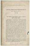 War Power of the President, Summary Imprisonment, Habeas Corpus.