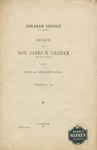 Abraham Lincoln /Speech of James M. Graham.
