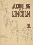 According to Lincoln