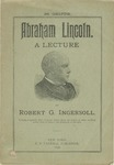 Abraham Lincoln :a Lecture