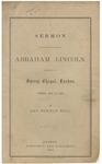 A Sermon on the Assassination of Abraham Lincoln: Preached at Surrey Chapel, London, Sunday, May 14, 1865