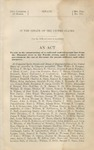 An act to aid in the construction of a railroad and telegraph line from the Missouri River to the Pacific Ocean.