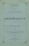 Address on the life and character of Abraham Lincoln, by the Hon. Richard S. Field. Delivered before the Legislature of New Jersey, February 12, 1866.