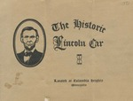 The Historic Lincoln car: located at Columbia Heights, Minneapolis.