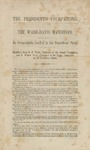 The President's usurpations.: The Wade Davis manifesto -- an irrepressible conflict in the Republican Party