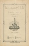 Pilgrimage of the G.A.R. to the Tomb of Lincoln, September 29, 1887 ... :Souvenir from the Home of Lincoln.