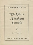 Prospectus, the Life of Abraham Lincoln in Verse, for Old and Young