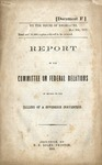 Report of the Committee on Federal Relations in Regard to the Calling of a Sovereign Convention.
