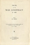 Truth of the War Conspiracy of 1861.
