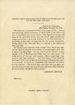 General Order Respecting the Observance of the Sabbath day in the Army and Navy.