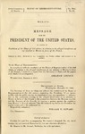 Mexico. Message from the President of the United States in Answer to Resolution of the House of 22d Ultimo, in Relation to the Alleged Interference of Our Minister to Mexico in Favor of the French. A report from the Secretary of State and the Papers with Which it is Accompanied.