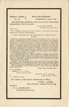 A Proclamation by the President of the United States : John Hay, Secretary of State of the United States, Died on July 1st.