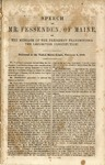 Speech of Mr. Fessenden, of Maine, on the Message of the President Transmitting the Lecompton Constitution.: Delivered in the United States Senate, February 8, 1858.