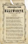 Assassination of Ellsworth, at Alexandria, Va., May 24th, 1861.