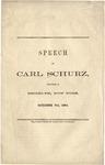 Speech of Carl Schurz Delivered in Brooklyn, New York, October 7th, 1864.