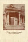 Tallman Homestead, Janesville, Wisconsin.