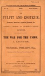The War for the Union :A lecture, Delivered in New York and Boston, December, 1861.