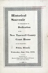 Souvenir of Early and Notable Events in the History of the North West Territory, Illinois, and Tazewell County, including the Names of those who have Served the County in Various Official Capacities.