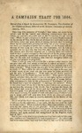 A Campaign Tract for 1864 : Extract from a Speech by Alexander H. Stephens, Vice-President of the Confederate States, Delivered in the Secession Convention of Georgia, January, 1861 [and Quotations from Speeches by Secessionists].