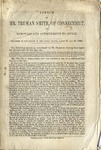 Speech of Mr. Truman Smith, of Connecticut, on Removals and Appointments to Office.: Delivered in the Senate. March 21 and 23, 1850.