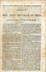 The Expenditures of the General Government: Speech of Hon. John Sherman, of Ohio. Delivered in the House of Representatives, May 27, 1858.