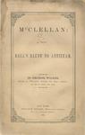 McClellan: From Ball's Bluff to Antietam