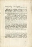 General orders. No. 315 War Department, Adjutant General's Office, Washington, September 17, 1863: the Following Act of Congress and Proclamation of the President