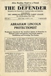 Abraham Lincoln Protectionist : Washington introduced the American system of Protection to Domestic Labor and Industry, and Lincoln aided in Establishing and Perfecting that System.