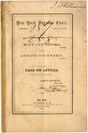 New York Surpreme Court: Mary Ann Brooks, Plaintiff, Against Adolphus Schwerin, Defendant. Case on Appeal.