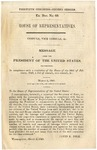 Consuls, Vice Consuls, &: Message from the President of the United States, Transmitting, in Compliance with a Resolution of the House of the 20th of February, 1849, a List of Consuls, Vice Consuls, &c.