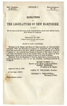 Resolutions of the Legislature of New Hampshire, in Favor of the Removal of the Terms of the United States Circuit and District Courts from Exeter to Concord: December 20, 1847